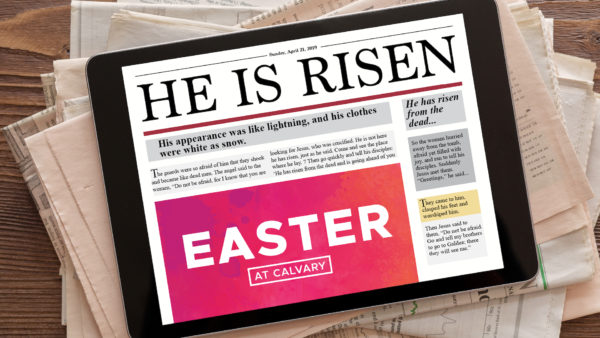 He Is Risen | Erie Campus Image